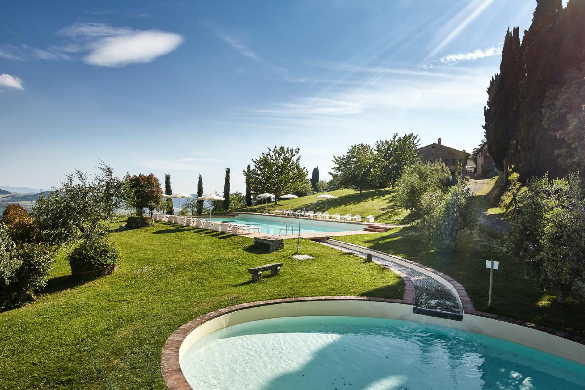 Agriturismo with pool and children's pool